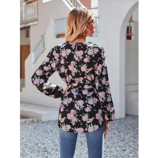 Blusas Cinta Floral Bohemio [1]