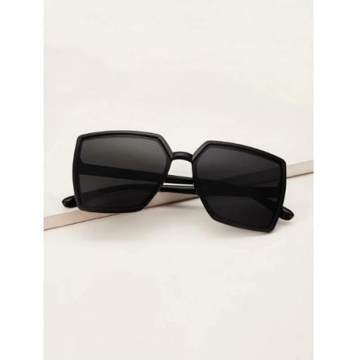 Gafas de sol cuadradas unicolor [1]