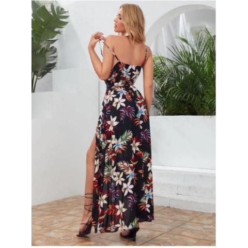 Vestido Cinta Tropical Bohemio [1]