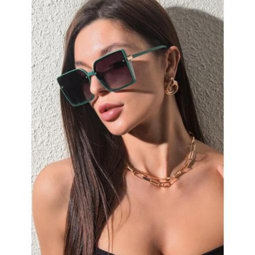 Gafas de sol con lentes teñidos