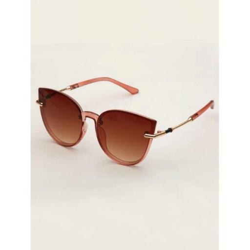 Gafas de sol de ojo de gato de marco acrílico [2]