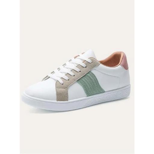 Zapatillas de skate de color combinado [2]