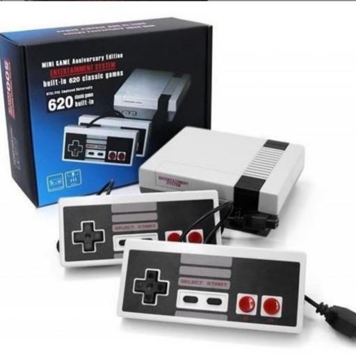 Mini consola 300 juegos clásicos de 8 bits.  [0]