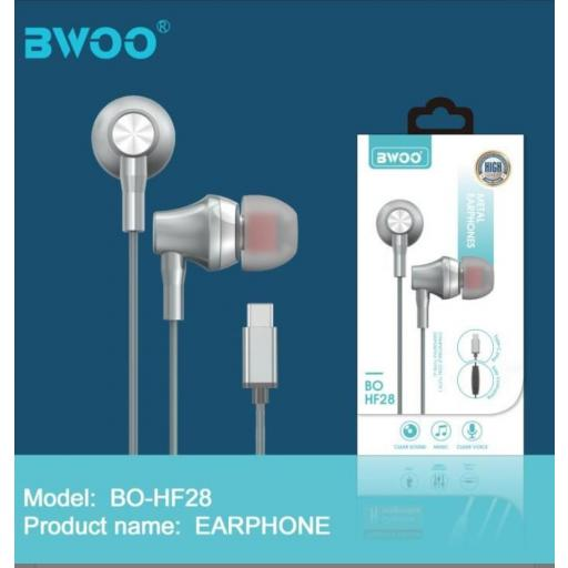 Auricular con cable Bwoo.