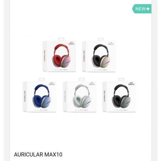 Auriculares inalámbricos Max 10.