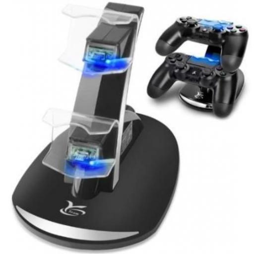 Cargador para mandos PS4.
