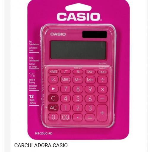 Calculadora Casio.