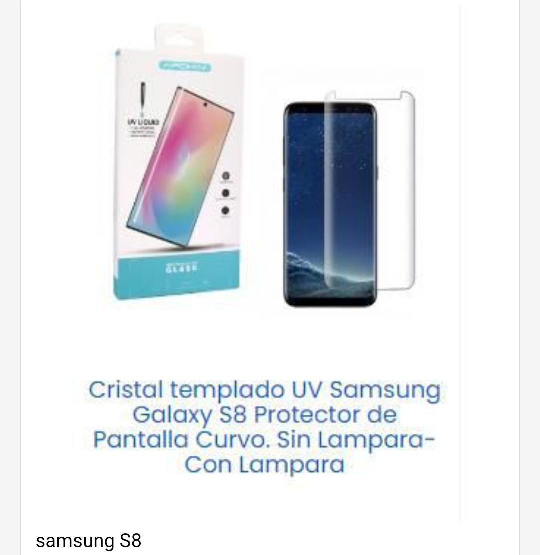 Cristal templado Samsung S8