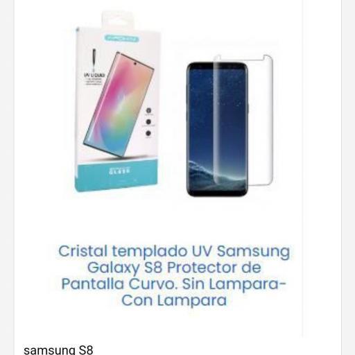 Cristal templado Samsung S8  [0]