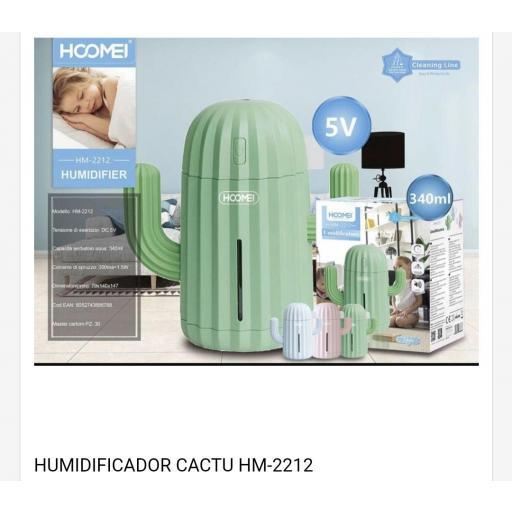 Humidificador Cactus. 340ml.
