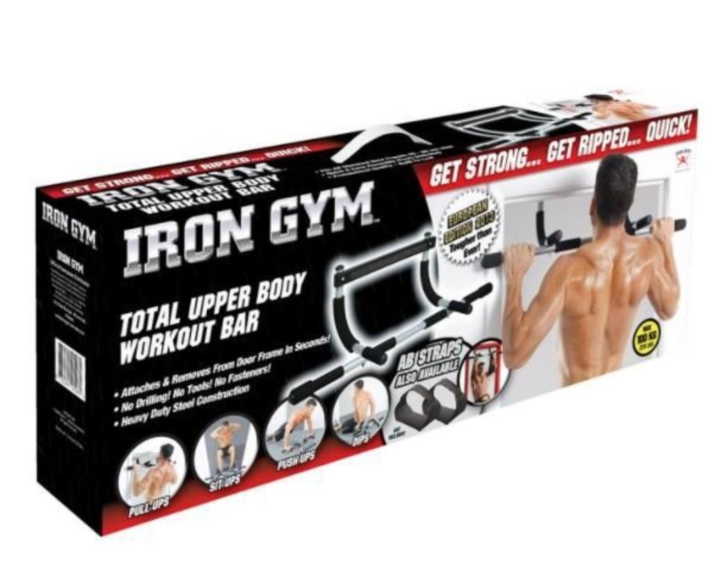 Iron Gym . Soporte para puerta .