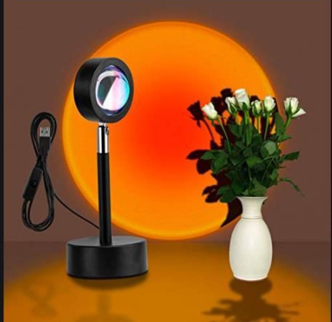 Lámpara de proyección.