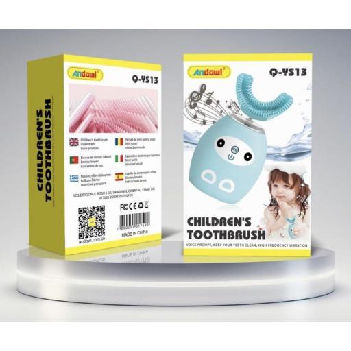 Limpiador dental electrónico infantil.