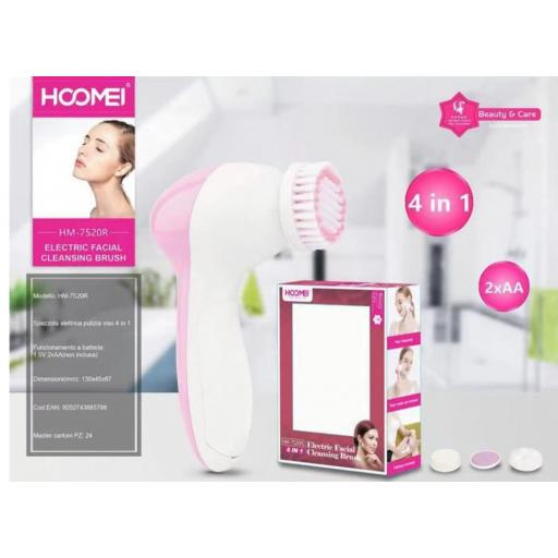 Limpiador facial HM-7520R. 4 en 1.