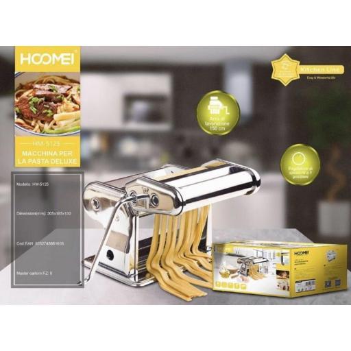 Mini máquina elaboradora de pasta.
