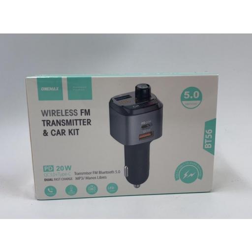 Transmisor bluetooth para el coche . MP3.
