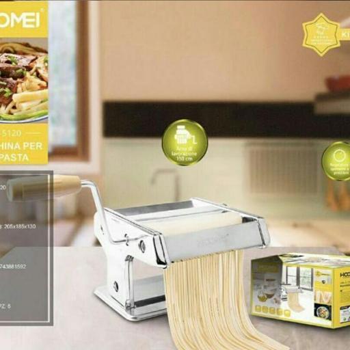 Máquina realización pasta. producto nuevo. (Producto solo disponible en Gran Canaria). [0]