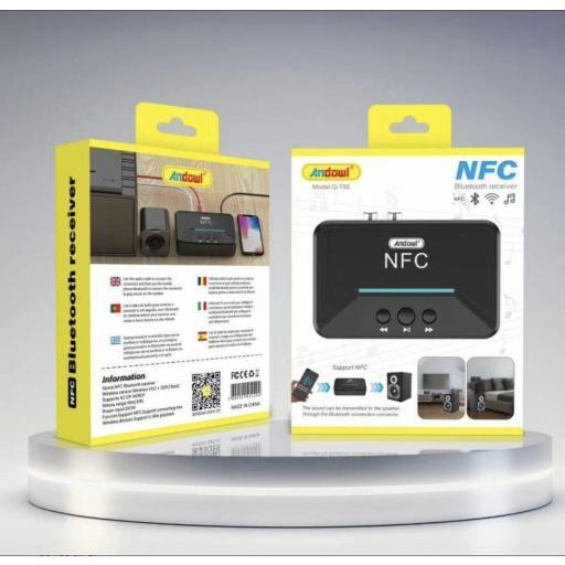 Receptor bluetooth NFC.
