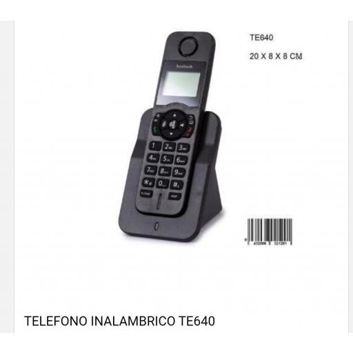 Teléfono inalámbrico.