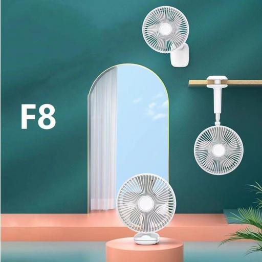 Ventilador plegable Apokin F8.  Mando a distancia y batería recargable. [0]