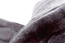 Manta / Plaid / Multiusos Bison Gris [1]