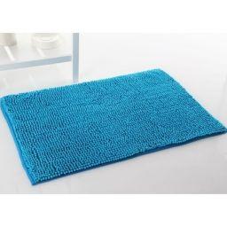 Alfombra de baño antideslizante alta absorción. Azul [1]