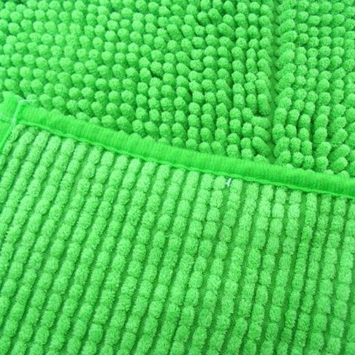 Alfombra de baño antideslizante alta absorción. Verde pistacho