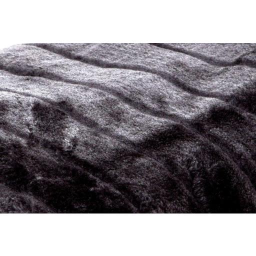 Manta / Plaid / Multiusos Bison Negro [1]