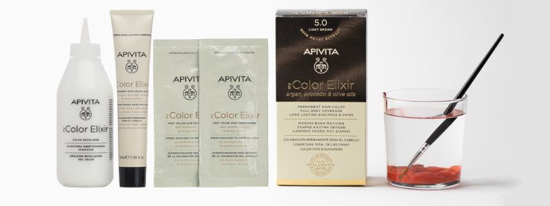 Resultados profesionales en casa con My Color Elixir de Apivita