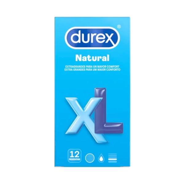 Preservativos Durex XL Natural