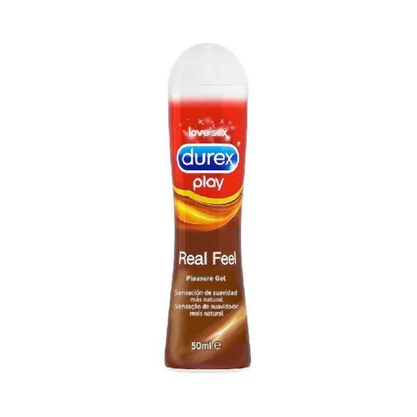 Lubricante Real Feel Durex Play
