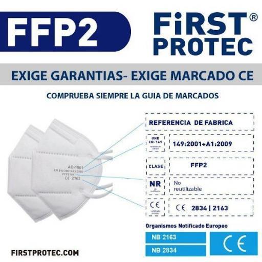 Mascarilla FFP2 Homologada [1]