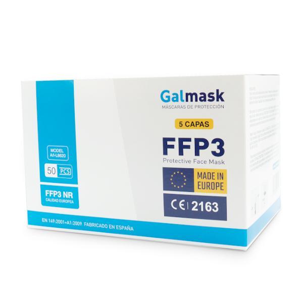 Mascarilla FFP3 Fabricación Española