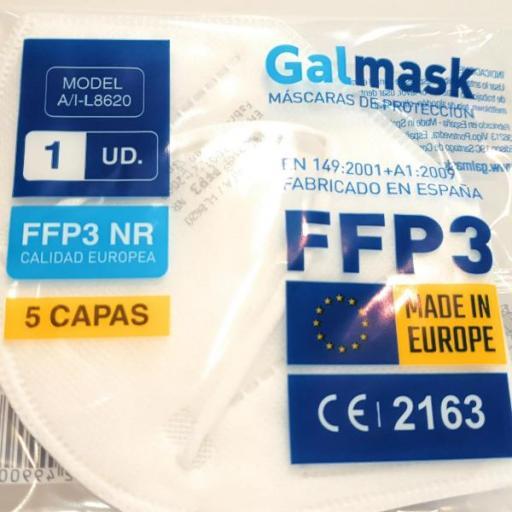 Mascarilla FFP3 Fabricación Española [1]