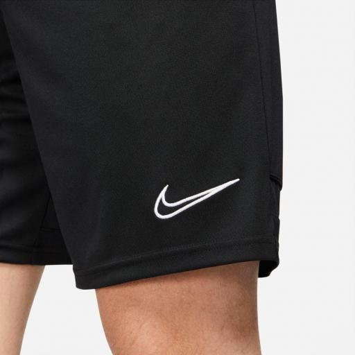 NIKE, Short Academy, Dry-Fit negro *1018* [1]
