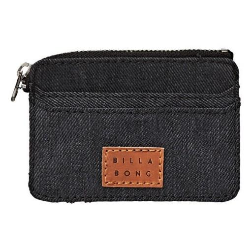 Monedero BILLABONG Garza Twill cremallera *129*
