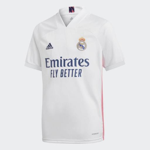 Camiseta  ADIDAS Real Madrid 1ª  20/21, *2171*