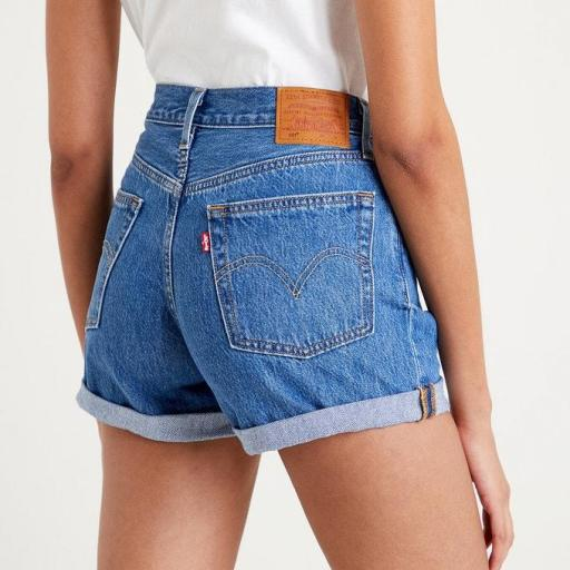LEVI´S, Short mujer 501 Rolle *2421*