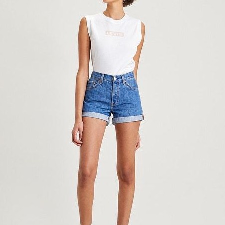 LEVI´S, Short mujer 501 Rolle *2421* [1]
