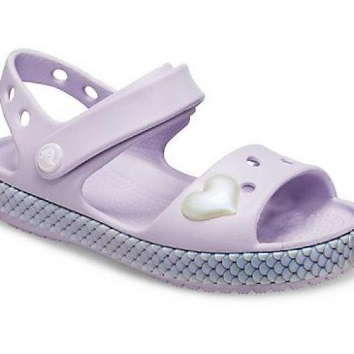 Sandalia junior CROCS, crocban sandal Imagination *258*
