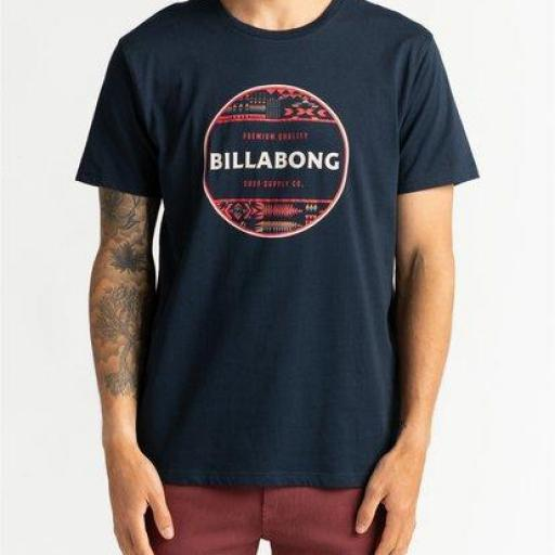 BILLABONG, Camiseta Unity Stacked *3491*