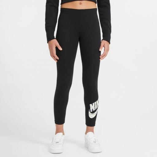 Legging niña NIKE Graphic, negro *3560*
