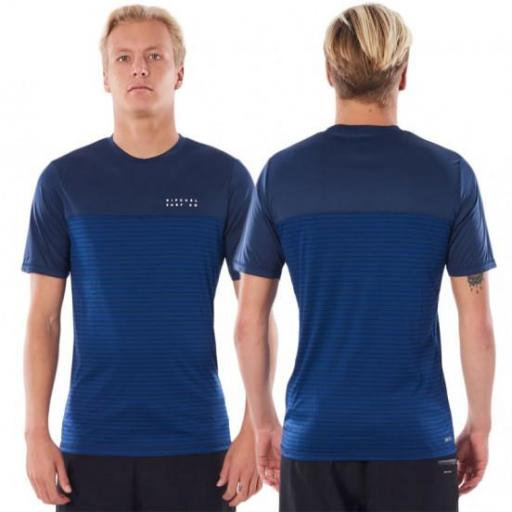 RIP CURL,  Constructor Short Sleeve Surflite *3802*