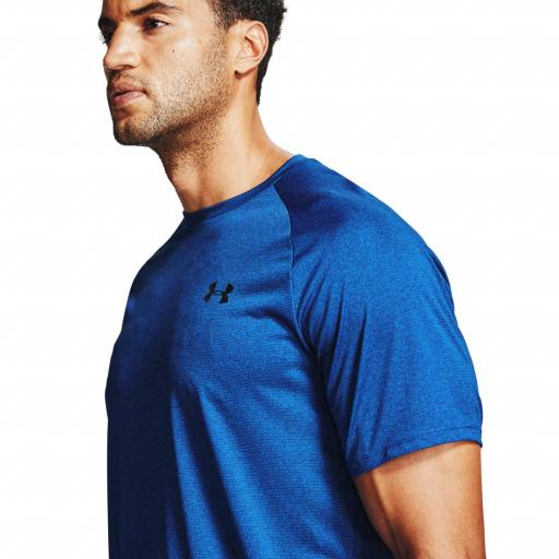 UNDER ARMOUR, Camiseta,Tech 2.0 Novelty azul *400* [1]