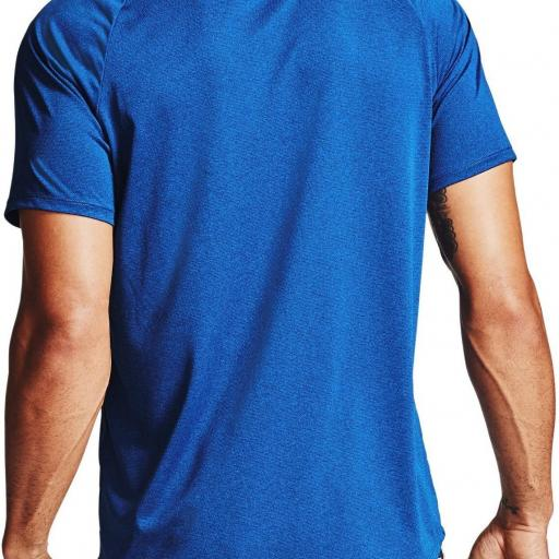 UNDER ARMOUR, Camiseta,Tech 2.0 Novelty azul *400* [3]