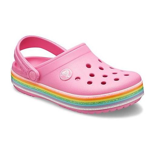 Sandalia junior CROCS, Crocband Rainbow*437*