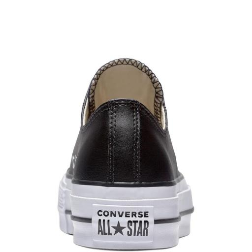 CONVERSE,  zapatilla mujer  All Star Lift Clean Low negro*4552* [2]