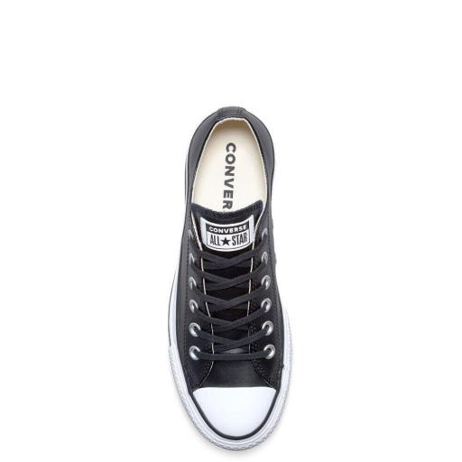 CONVERSE,  zapatilla mujer  All Star Lift Clean Low negro*4552* [3]