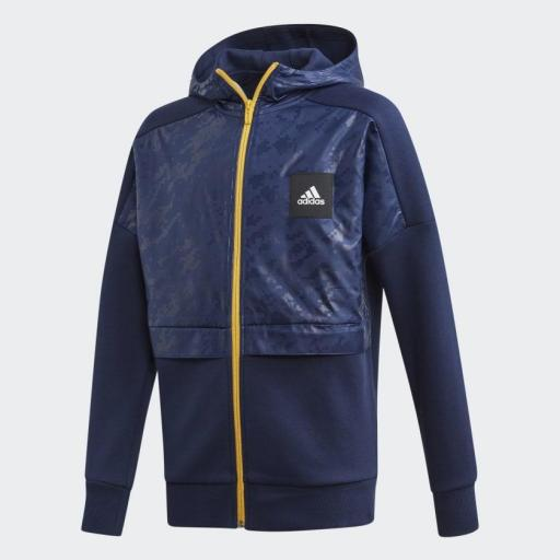 Sudadera junior ADIDAS Yb Id Cover Up*7749*