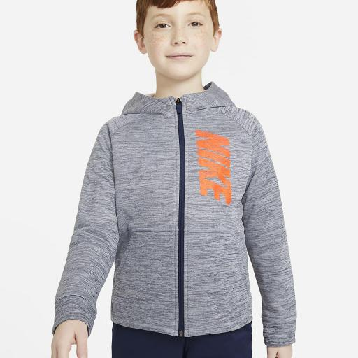 Sudadera capucha Junior NIKE Therma gfx  *1625*